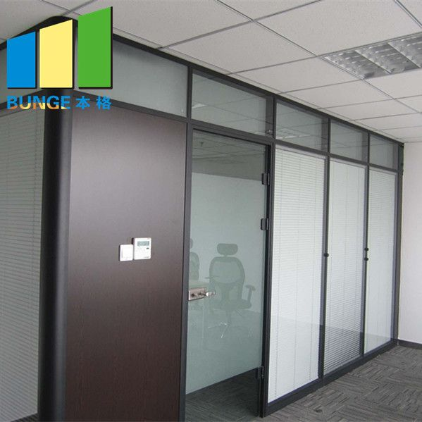 Product Name Aluminum Glass Partitions Model Number Bg83mm Glass