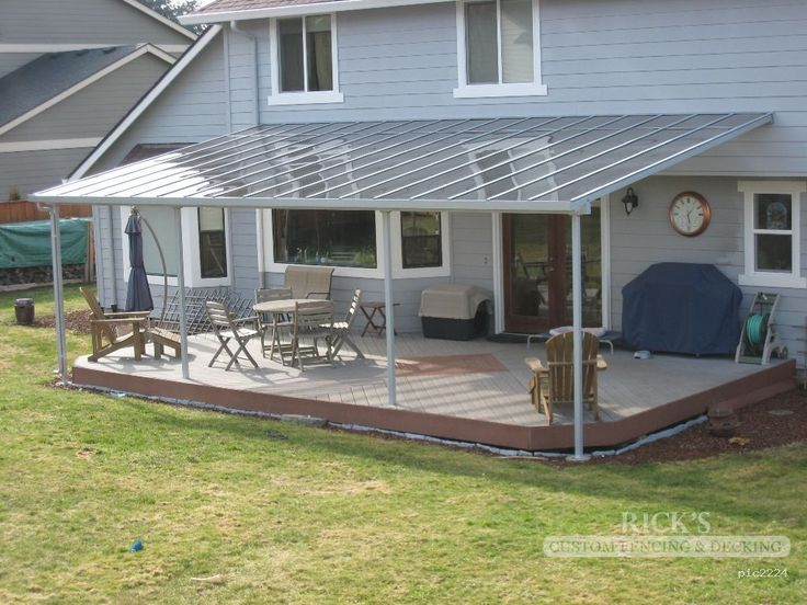 Aluminum patio covers & aluminum patio cover kits at Ricksfencing.com.  Looking for an - 17 Best Ideas About Aluminum Patio Covers On Pinterest
