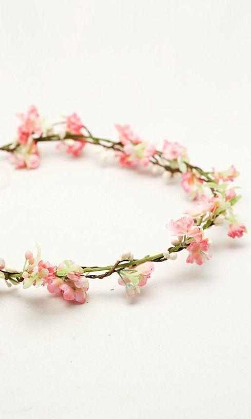 Pink Woodland Wedding Wreath