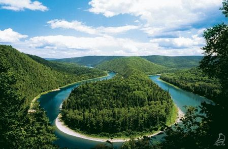 Running through the heart of the Appalachian Mountains, New Brunswick's pristine Restigouche River is the ultimate spot to connect with nature amidst thousands of green trees.