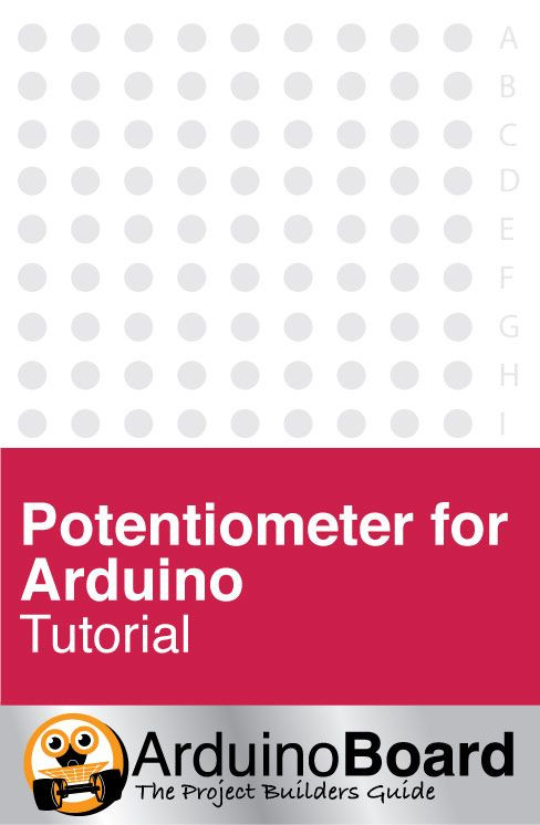 Potentiometer for Arduino :: Learn what an analog signal is, and find out how to read it using Arduino's built in 'analogRead()' function. CLICK HERE for Tutorial https://www.arduino-board.com/tutorials/potentiometer