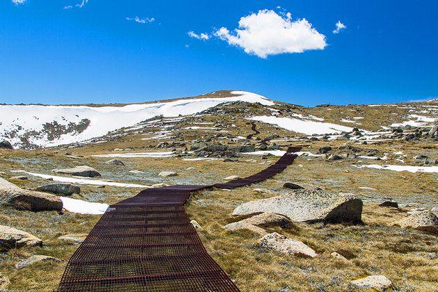 Walking track to Mount Kosciuszko