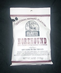 New NIP Horehound Old Fashioned Hard Claeys Candies Soothing Throat Candy 6oz | eBay $4.99