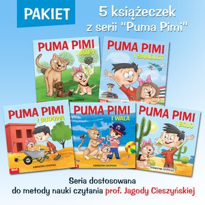 Pakiet: PUMA PIMI - 5 książeczek