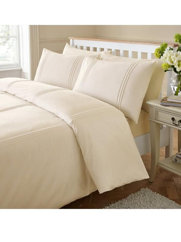 Catherine Lansfield Minimalist Duvet Cover Set | very.co.uk