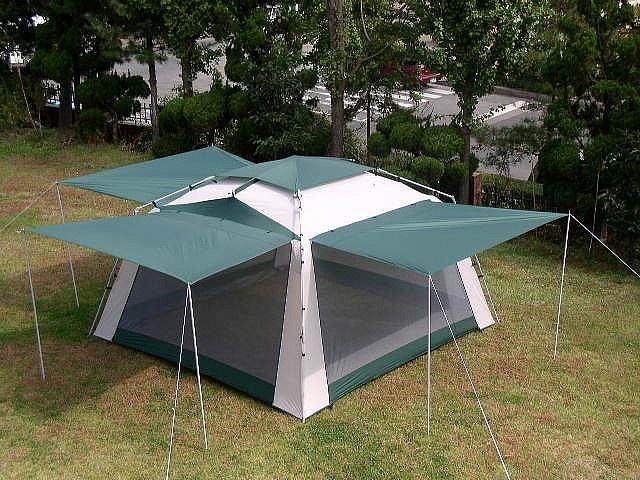 Trek   Deluxe Screen Tent