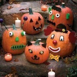 Pumpkin decorating kits make decorating Halloween pumpkins easy, fun and awesome! Even children can decorate pumpkins with these no carve pumpkin...