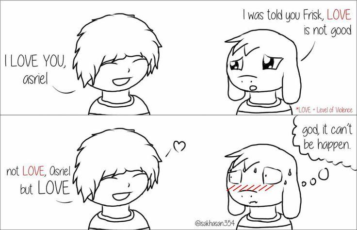 Love, Asriel by isakhasan354