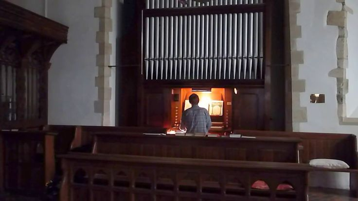 All Heaven Declares - pipe organ, All Saints Church, St Ewe
