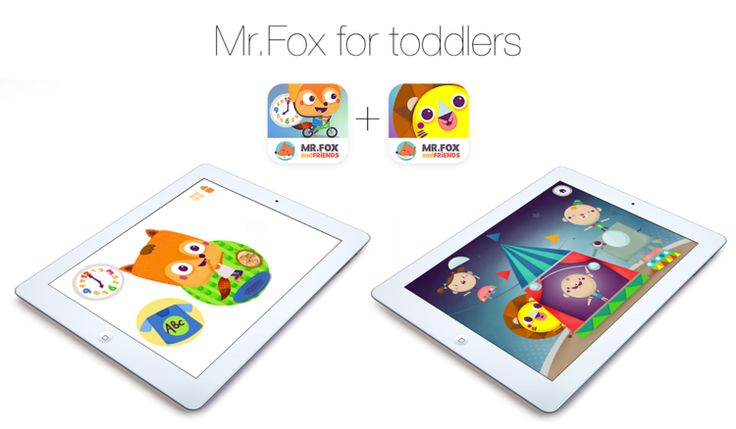 Learn shapes and daily routines - that's the new Mr.Fox for toddlers bundle