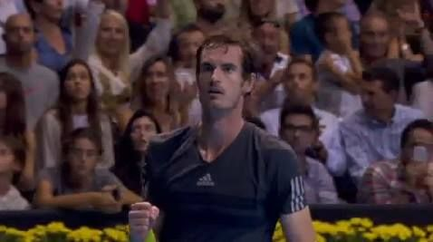 Incredible scenes in Valencia - Murray looks down and out but saves two match points to drag the match to a 3rd set against Robredo  What will happen next?! Watch live on www.livetennis.com/category/live-streams/