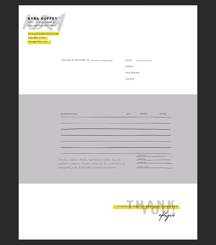 30 best Invoice   receipt images on Pinterest Invoice design - Website Invoice