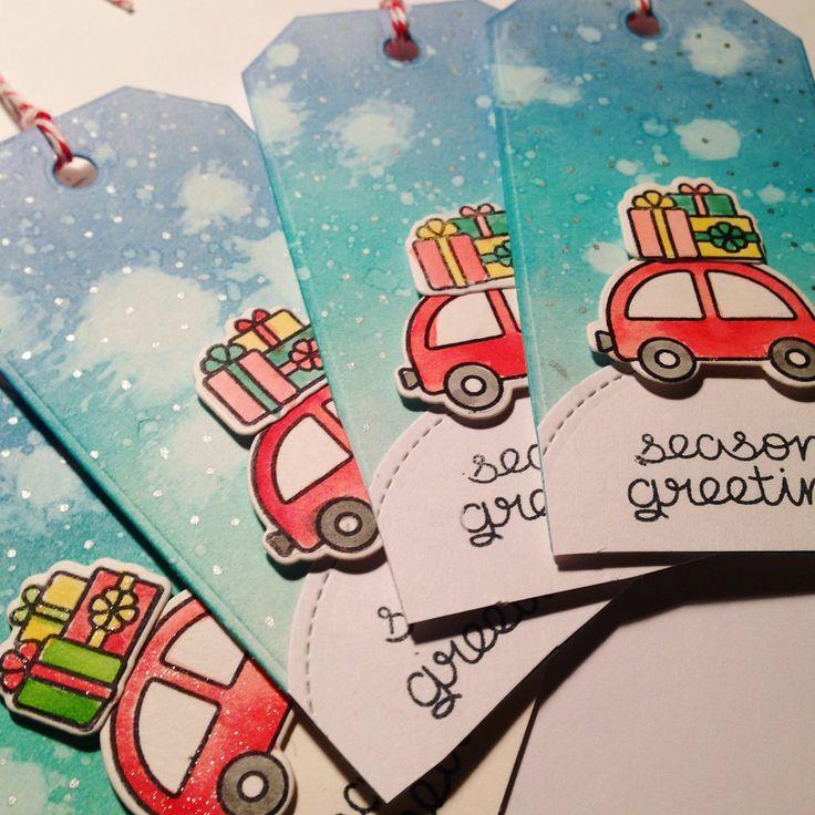 Lawn fawn card Christmas