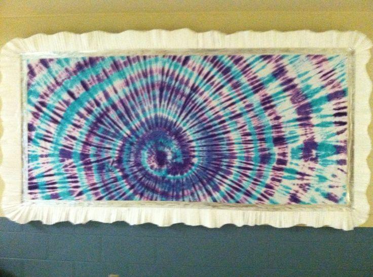Tie Dye Bulletin Board School Bulletin Boards