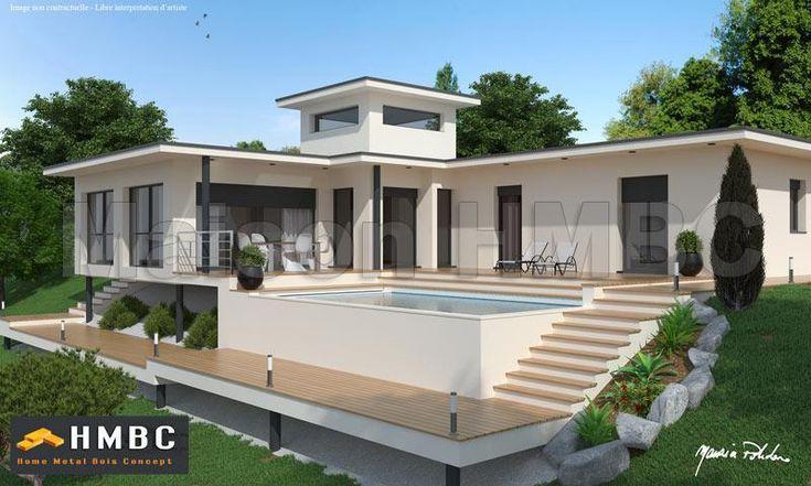 constructeur de maison design constructeur maison contemporaine constructeur maison moderne en. Black Bedroom Furniture Sets. Home Design Ideas