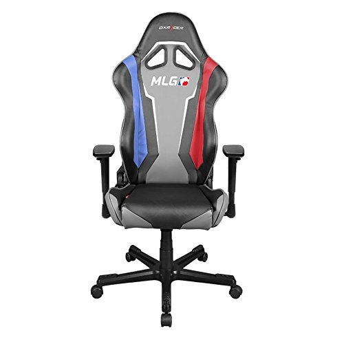 DXRacer Racing Series OHRE112MLG Major League Gaming Racing Bucket Seat Office Chair Gaming Chair Ergonomic Computer Chair Desk Chair Executive Chair With Pillows >>> You can find out more details at the link of the image.Note:It is affiliate link to Amazon.