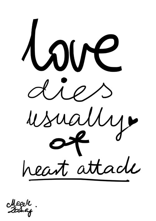 Porysunki.blogspot.com love dies usually of heart attack