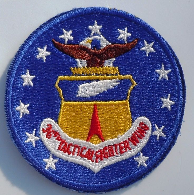 USAF MILITARY PATCH USAFE 36th TACTICAL FIGHTER WING TFW