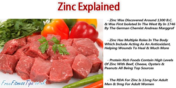 How much zinc should i take