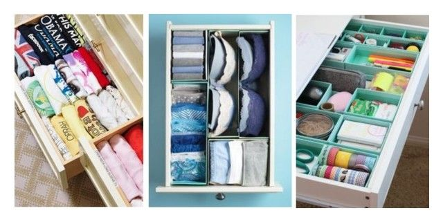 drawer organization for blog by flairbybrandi on Polyvore featuring interior, interiors, interior design, home, home decor and interior decorating