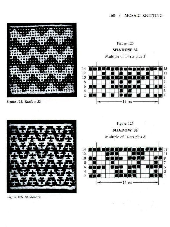 Mosaic Knitting Barbara G. Walker (Lenivii gakkard) Mosaic Knitting Barbara G. Walker (Lenivii gakkard) #173