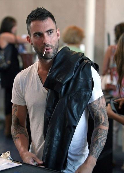 Adam Levine. goodness gracious!