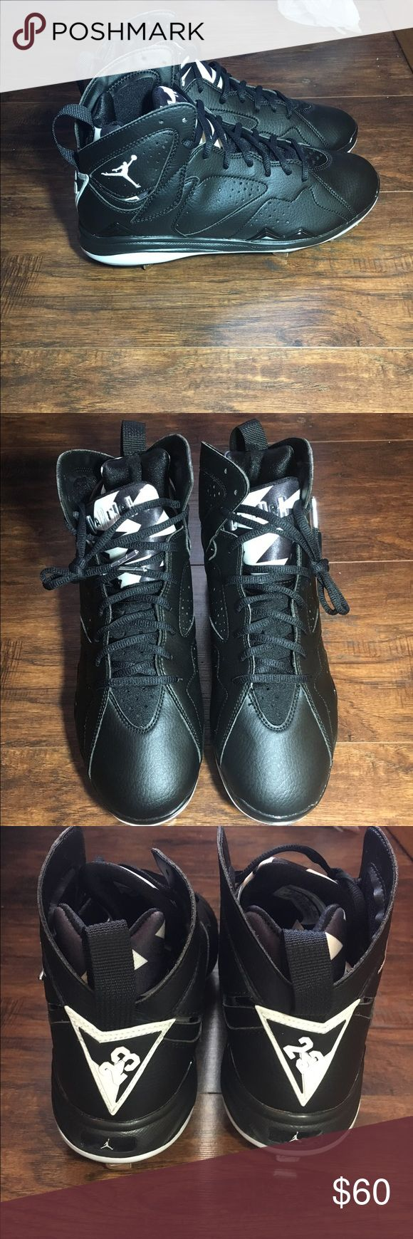 Jordan baseball cleats Jordan 7's baseball cleats  Brand new without box 100% authentic  Size 10 in men's Jordan Shoes Athletic Shoes