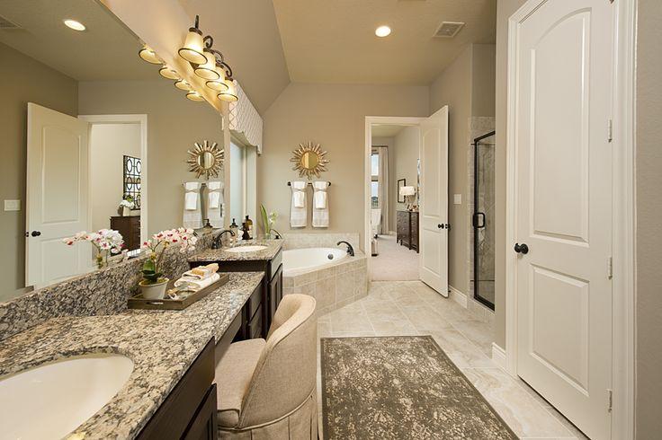 Model home bathrooms