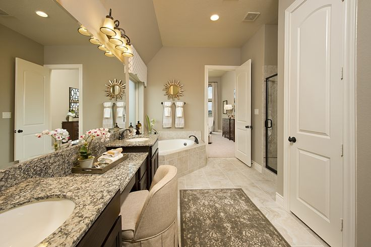 New ventana lakes model home 3 257 sq ft master for Model bathrooms photos