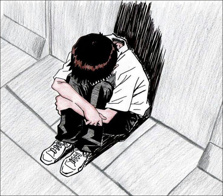 Depresion Anime Pinterest
