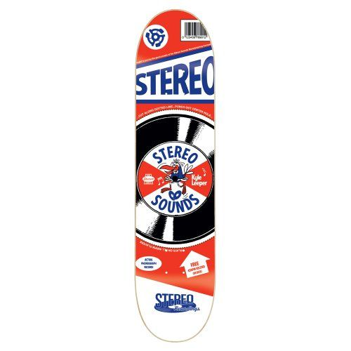 Stereo Skateboards Cereal Box Leeper Skateboard Deck (Multi-Color, 7.75-Inch) Cheapest - http://ridgecrestreviews.com/stereo-skateboards-cereal-box-leeper-skateboard-deck-multi-color-7-75-inch-cheapest/