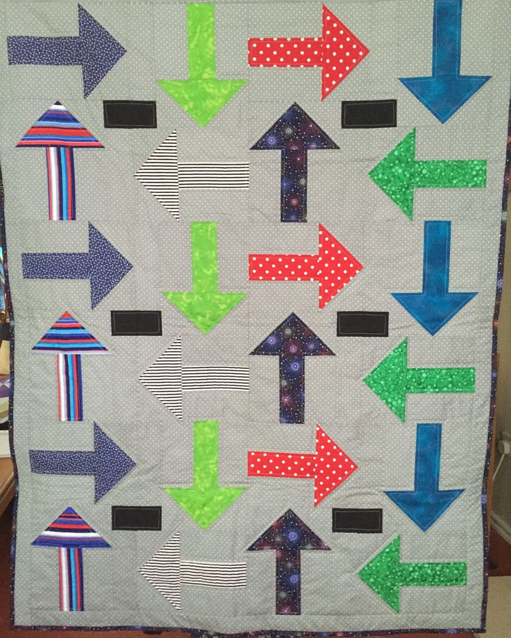 Every Which Way quilt for Project Linus (June 2016)