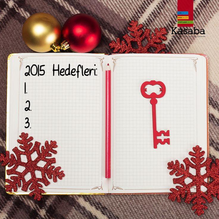Yeni yıl hedefleri belirlendi mi bakalım? Listende neler var?   #gunaydin #yeniyil #2015