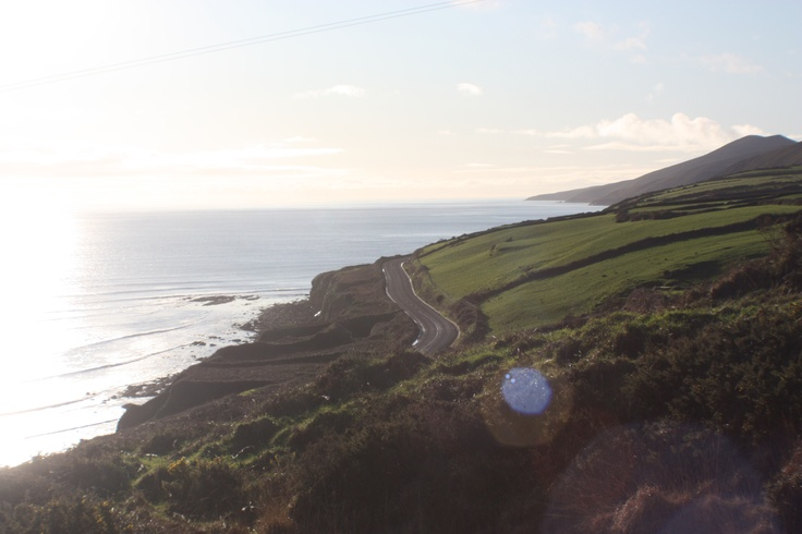 The low road to Inch Beach - Red Cliff