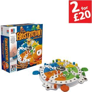 Buy Frustration Game from Hasbro Gaming at Argos.co.uk - Your Online Shop for 2 for 20 pounds on selected games, Games and board games.