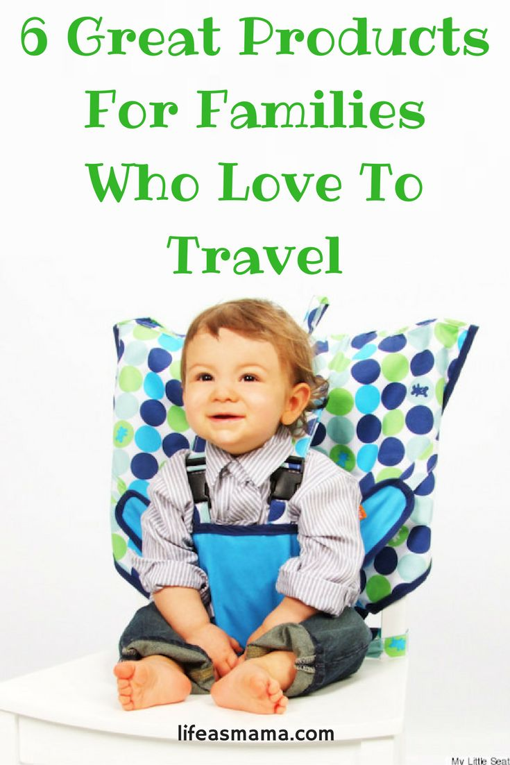 6 Great Products For Families Who Love To Travel