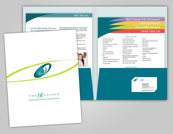 Stepped Inserts for Cascading Presentation Folders from 5 - resume folders