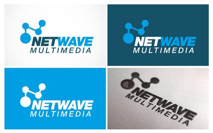 Participating logo contest on www.sribu.com - Netwave Multimedia