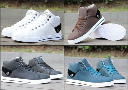 2015-New-Mens-casual-sports-shoes-breathable-high-help-tide-Business-Shoes-S021