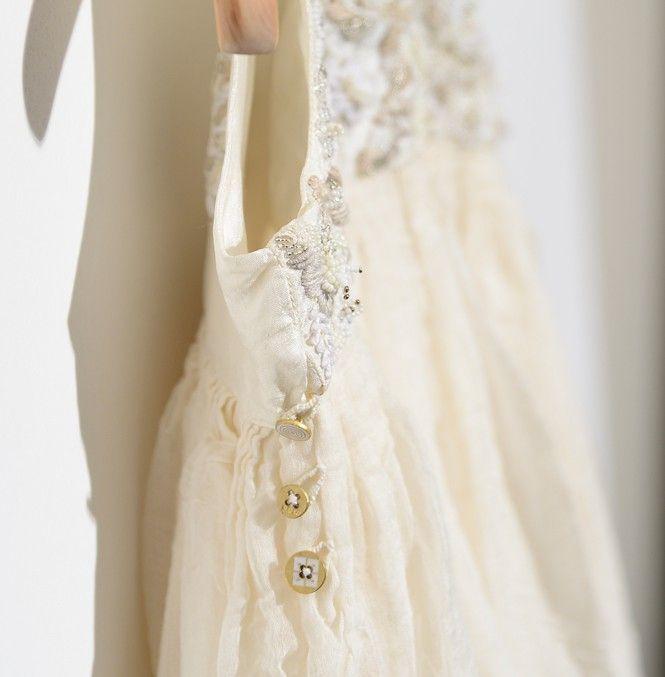 Woopeye abbigliamento per bambini, Neonato - Ceremony Dress by @chotapero #pèrobyaneetharora #pèro #handmade #manufacture #madewithlove  http://www.woopeye.com/shop-681-abito-cerimonia-con-ricamo-a-mano.html