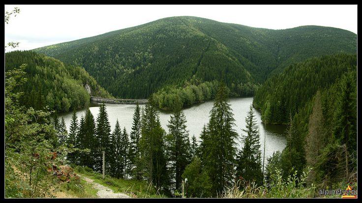 The Negoveanu Lake (Cindrel Mountains -Sibiu)
