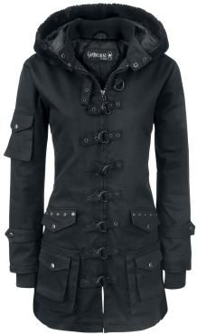 Gothicana by EMP  Short Coat  »Bloodsucker« | Buy now at EMP | More Basics  Short coats  available online ✓ Unbeatable prices!