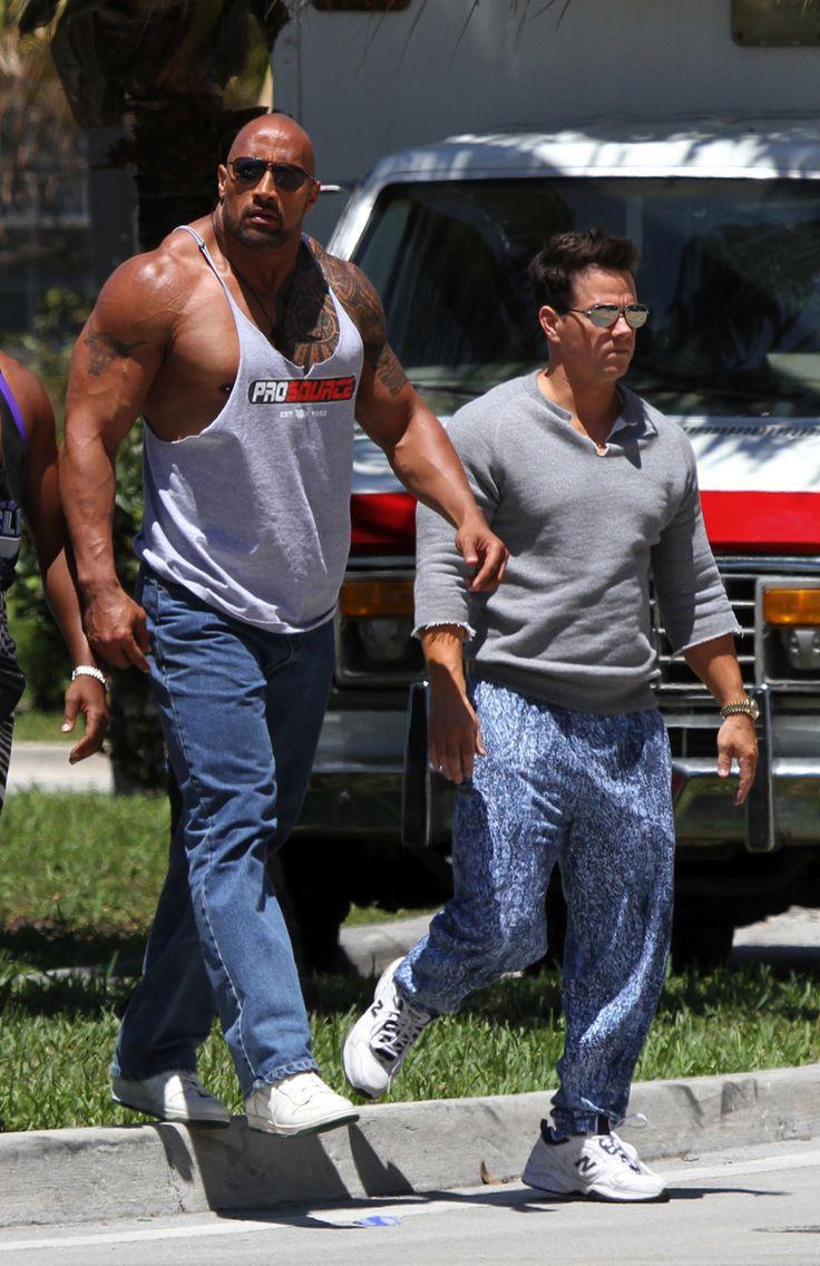 Rock Status: Dwayne Johnson x Mark Wahlberg