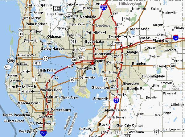 Palm Harbor Florida Map.Palm Harbor Fl Zip Code Map
