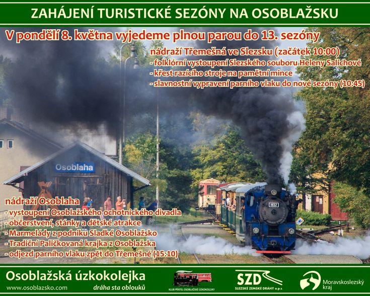 Slavnostním zahájení turistické sezóny na Osoblažsku
