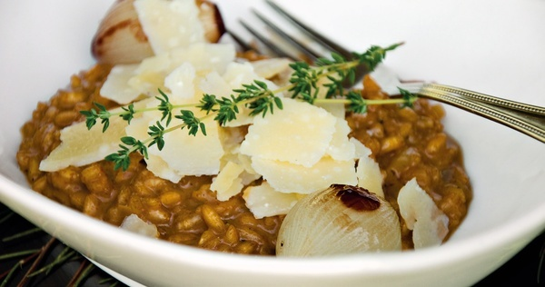 Rooibos risotto recipe dinner-parties-south-african-inspired-menu
