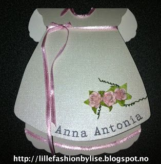 baby card lillefashion.by.lise