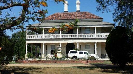 Historic Ashgrove house on Glenlyon Drive.