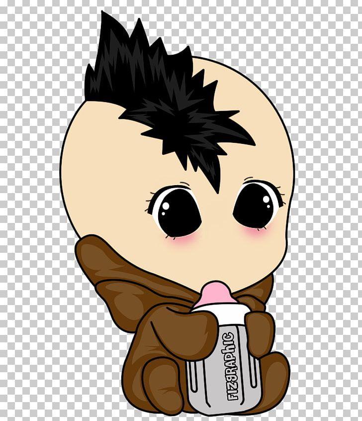 Infant Cartoon Punk Rock Png Art Boy Carnivoran Cartoon Cat Cartoon Punk Rock Rock