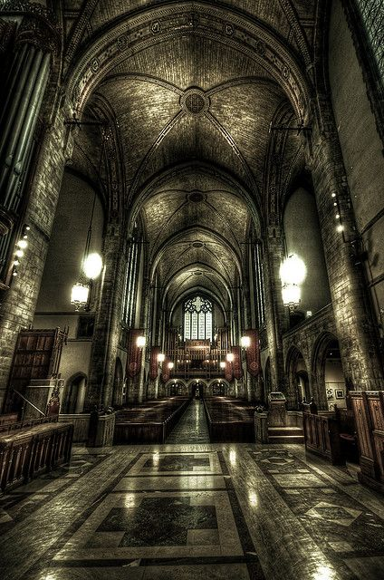 rockefeller chapel in Hyde Park, Chicago saw a concert here recently. ahhhmazing.